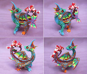 Dragarin and Scampi by DragonsAndBeasties
