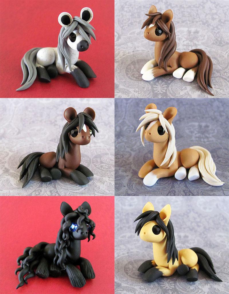 Natural Ponies by DragonsAndBeasties