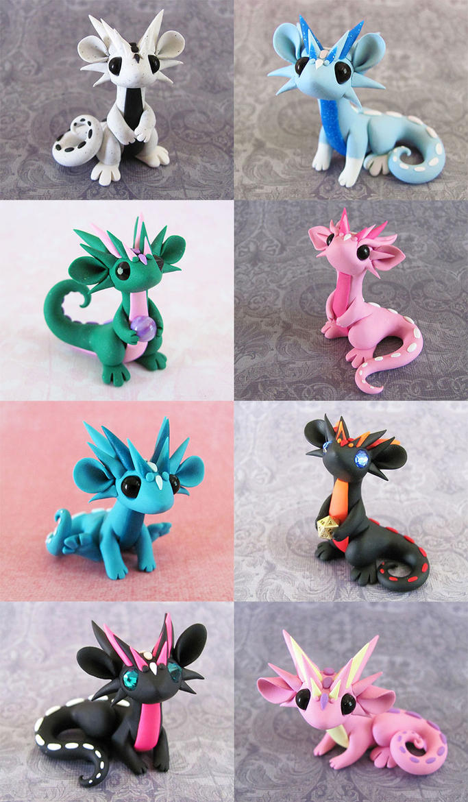 Scrap Dragons Aug 10th by DragonsAndBeasties