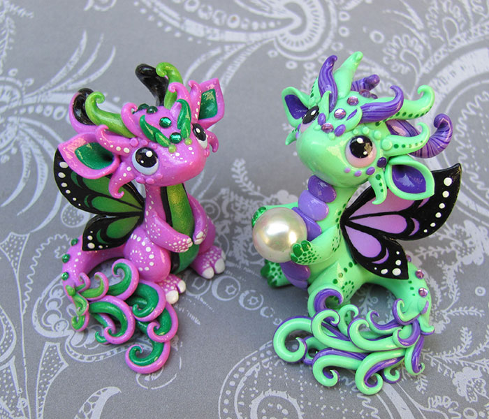 Baby Butterfly Dragons by DragonsAndBeasties