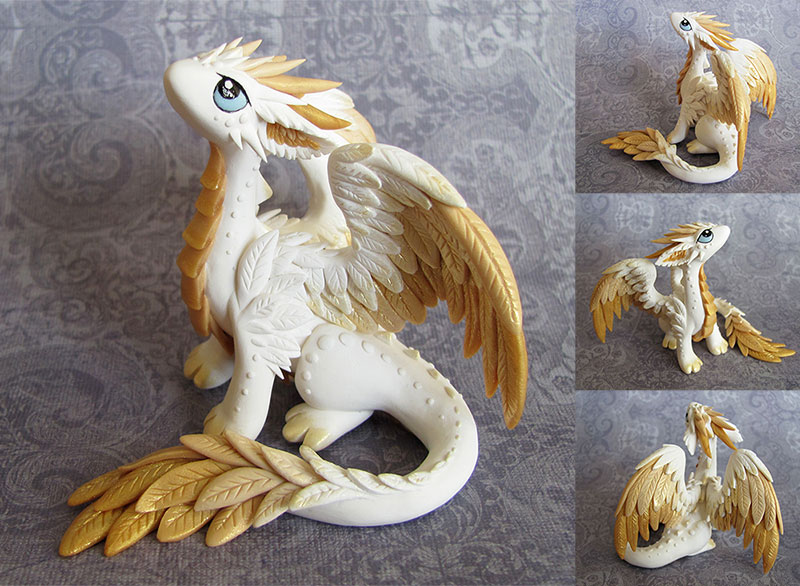 Angel Dragon by DragonsAndBeasties