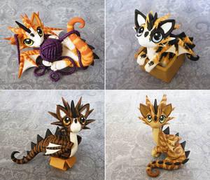 Cat Dragons