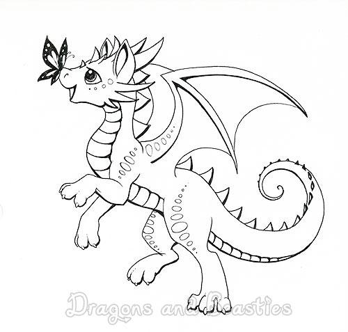 Inktober Day 1: Happy by DragonsAndBeasties