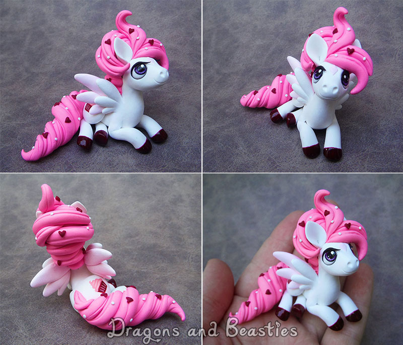 Sculptober: Pink Frosting by DragonsAndBeasties