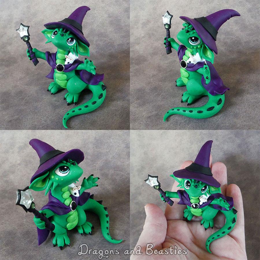 Sculptober: Magic by DragonsAndBeasties