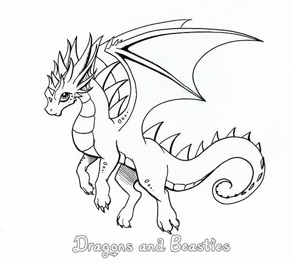 Inktober by DragonsAndBeasties