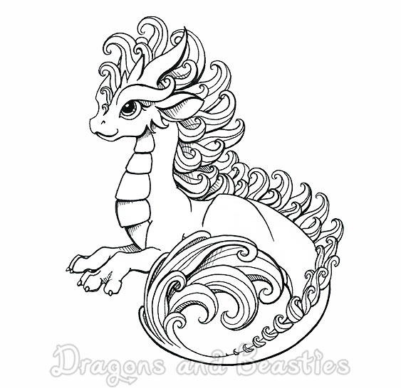 Inktober: Curly by DragonsAndBeasties