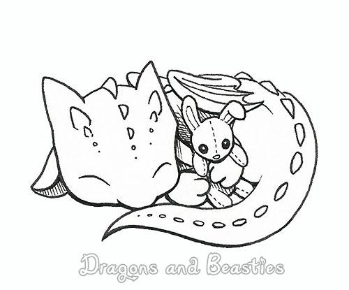 Inktober: Baby by DragonsAndBeasties