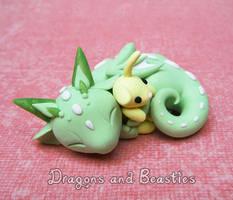 Sculptober: Baby by DragonsAndBeasties