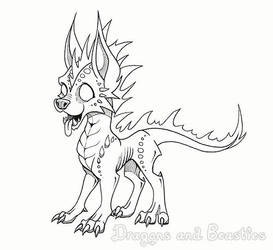 Inktober : Supernatural by DragonsAndBeasties
