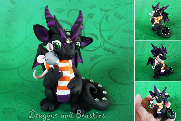 Sculptober: Cozy by DragonsAndBeasties