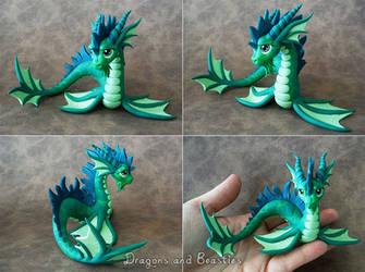 Sculptober : Aquatic by DragonsAndBeasties