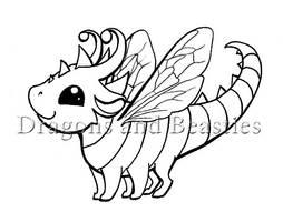 Inktober: Bug by DragonsAndBeasties