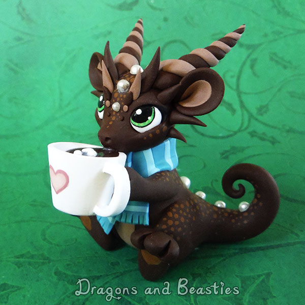 Sculptober: Chocolate by DragonsAndBeasties