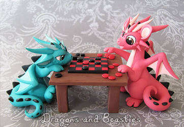 Sculptober: Games by DragonsAndBeasties