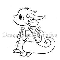 Inktober : School by DragonsAndBeasties