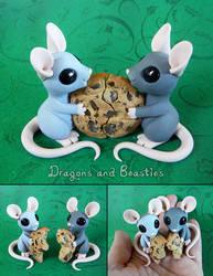 Sculptober: Best Friends by DragonsAndBeasties