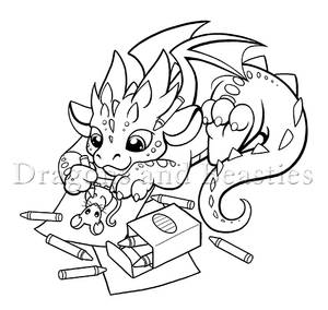 Coloring Dragon