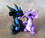 Scrap Dragon Couple