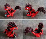 Fluffy Red Dragon