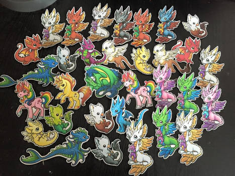 Dragons and Beasties Stickers