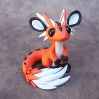Fox Dragon by DragonsAndBeasties
