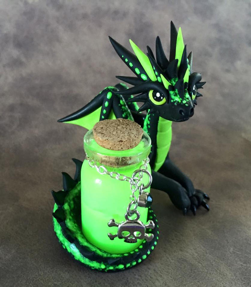Poison Dragon by DragonsAndBeasties
