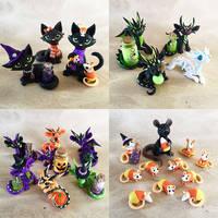 Etsy Sale Oct. 18th - Halloween! by DragonsAndBeasties