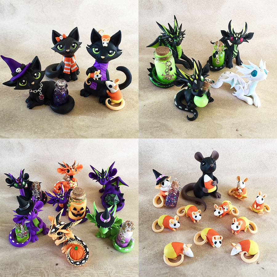 Etsy sale oct 18th halloween by dragonsandbeasties on for How to sell crafts on etsy
