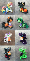 Scarf Critters Sale by DragonsAndBeasties