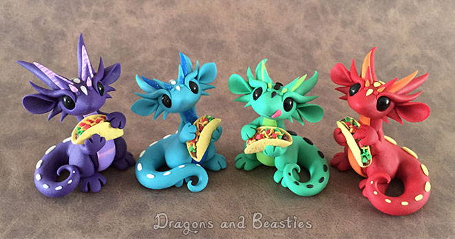 Taco Dragons by DragonsAndBeasties