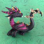 Dragon with Ball Python
