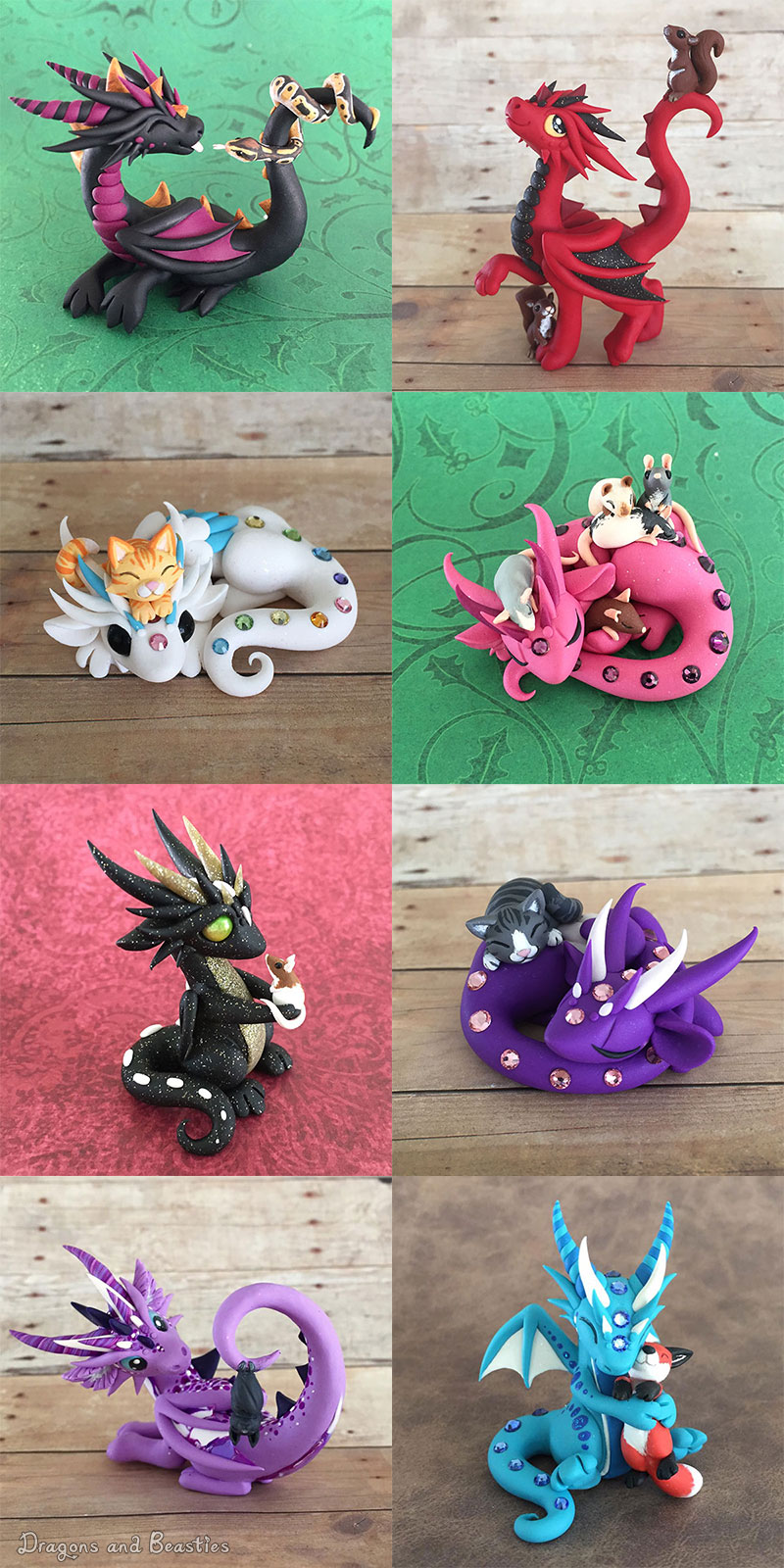 Dragon Pets Sale August 14 by DragonsAndBeasties