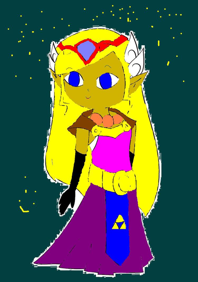 Toon Zelda - Colourd by princesszelda011