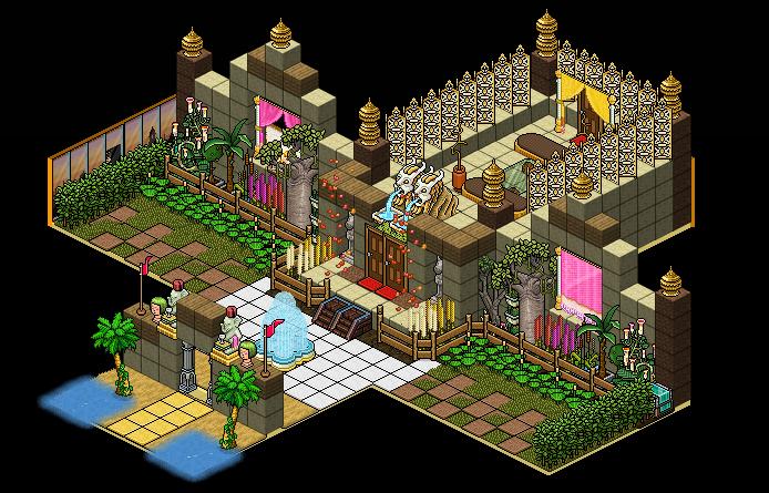 Living Room Habbo