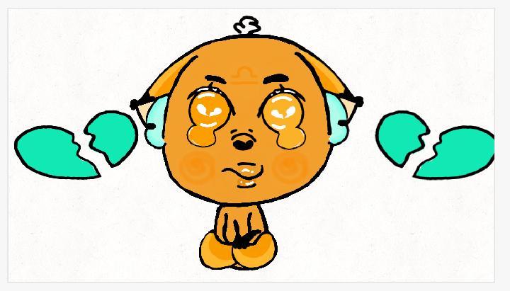 A sad fox by kuberamo