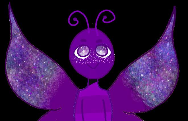 Galaxy Butterfly by kuberamo