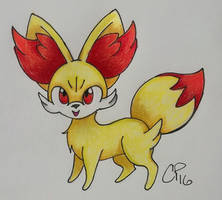 This Fox is on Fire! by Nightlovesbirds