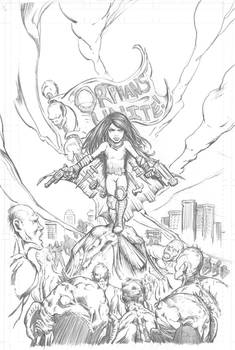 Awesome Annie - Pencils version