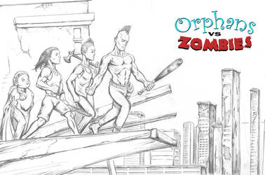 Orphans vs Zombies group- Michael Stewart by michaelstewart