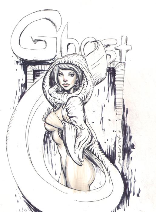 Ghost- by Michael Stewart by michaelstewart