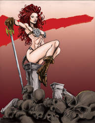 Sonja Color   Mike Stewart Art devart