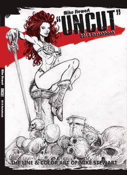 Uncut art book cover