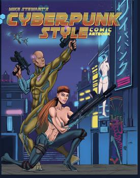 Cyberpunk Style Book Cover