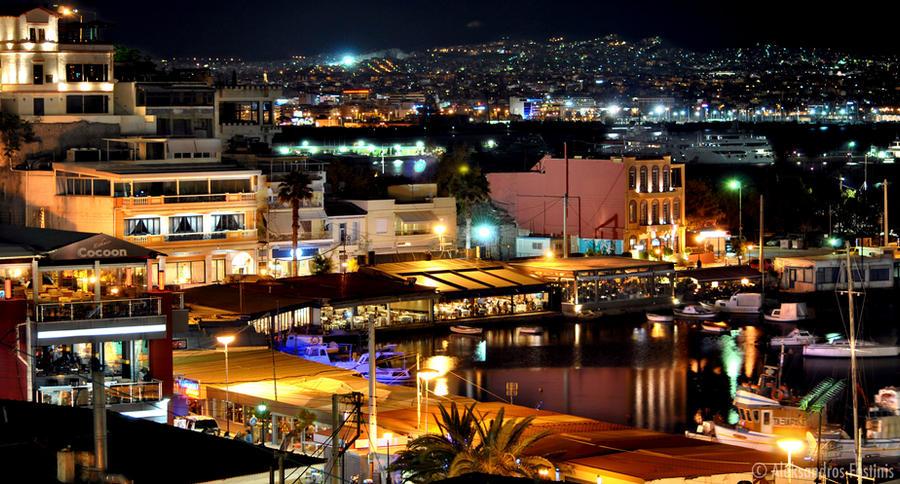 The city of Piraeus No3 by afostinis