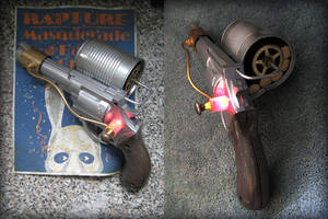 bioshock pistol by caramellcube