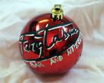 True Blood Fangtasia Christmas Ornament