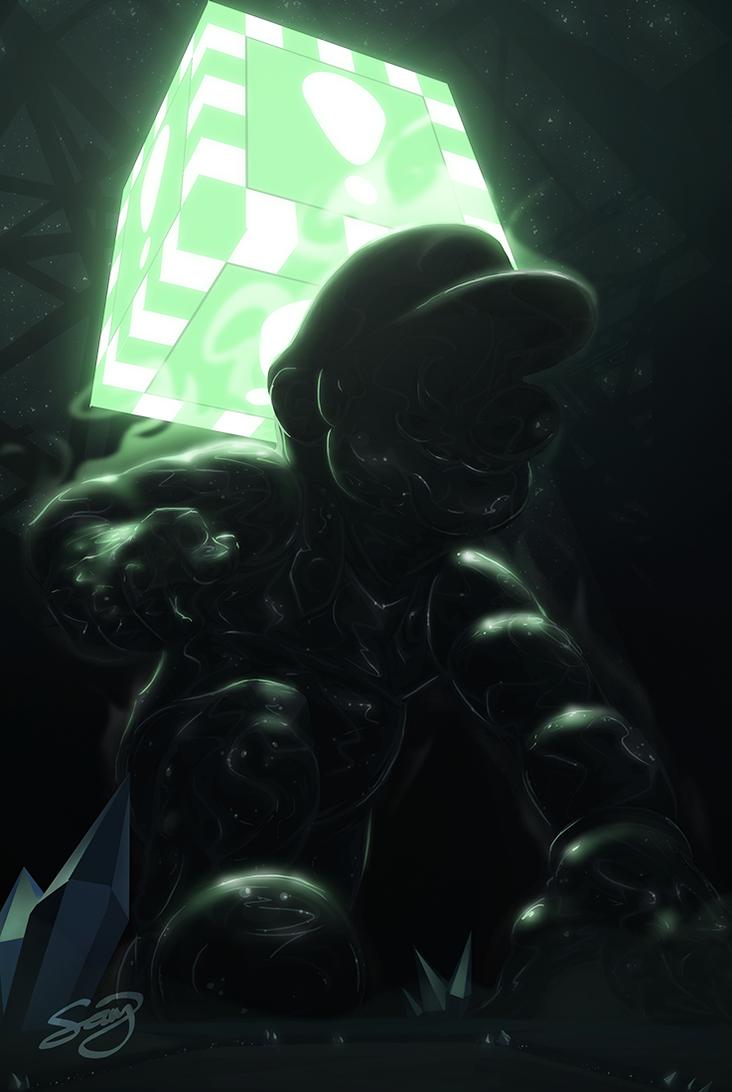 Metal Mario by thatSanj