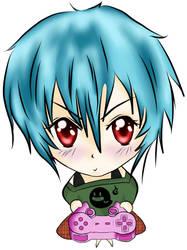 Gamer Girl by raynetempura