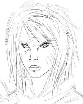 Rajshi the Outlaw Sketch
